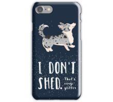 Corgi Glitter (Cardigan Welsh Corgi) iPhone Case/Skin