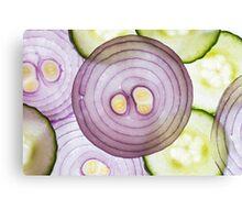 Purple Onion Canvas Print