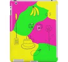 Color in the kitchen iPad Case/Skin