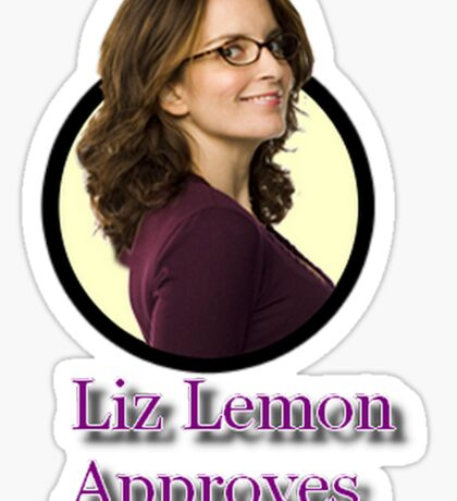 Tina Fey - Liz Lemon Approves Sticker