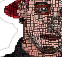 Josh Dun - Pixelated Sticker