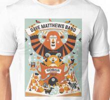 DMB The Gorge Amphitheatre George WA Unisex T-Shirt