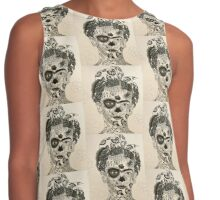 Day of the Dead Frida Contrast Tank