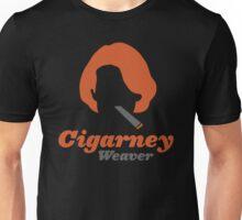 """Cigarney Weaver"" Sigourney Weaver Cigar Shirt Unisex T-Shirt"