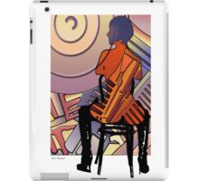 Figure and Harley engine iPad Case/Skin