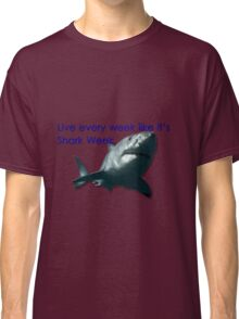 30 Rock - Shark Week Classic T-Shirt