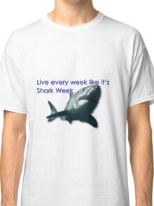 30 Rock - Shark Week Classic T-Shirt