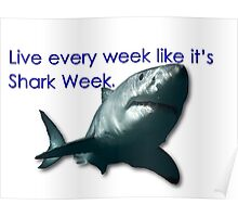 30 Rock - Shark Week Poster