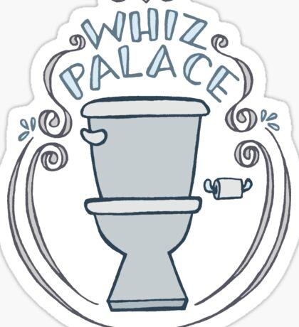 Whiz Palace Sticker