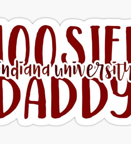 Indiana University - Style 9 Sticker