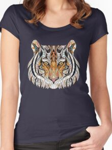 Ethnic Tiger Women's Fitted Scoop T-Shirt