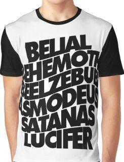 YEAR ZERO CHORUS - solid black Graphic T-Shirt
