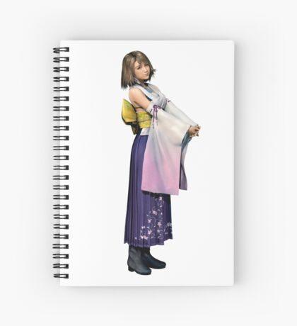 Yuna - Final Fantasy 10 Spiral Notebook