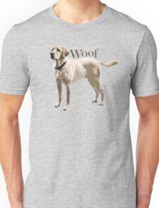 Woof - Retriever Unisex T-Shirt