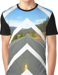 Sliced Road Graphic T-Shirt
