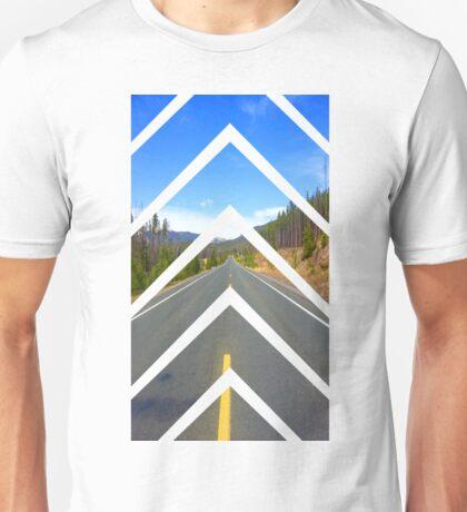 Sliced Road Unisex T-Shirt