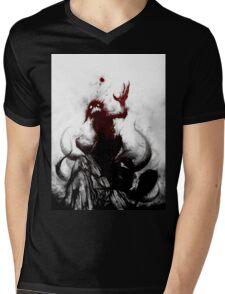 KYUBI Mens V-Neck T-Shirt