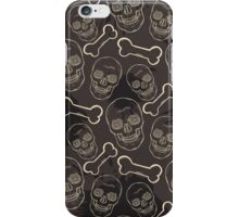 Evil skulls iPhone Case/Skin