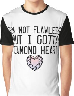 Diamond Heart Graphic T-Shirt