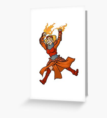 Kill It With Fire! Greeting Card