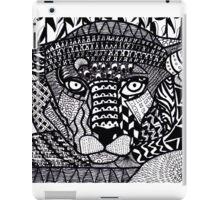 Leopard Zentangle iPad Case/Skin