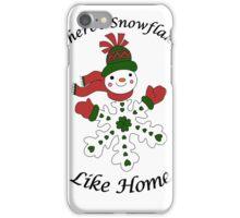 Cute Snowflake Snowman iPhone Case/Skin