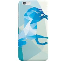 Geometric polygonal horse, pattern design iPhone Case/Skin