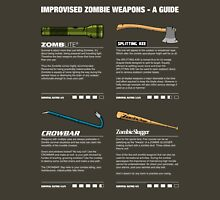 Improvised Zombie Weapons - A Guide T-Shirt