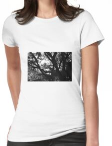 Dark tree Womens Fitted T-Shirt