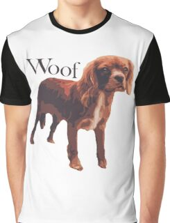 Woof - Spaniel Graphic T-Shirt