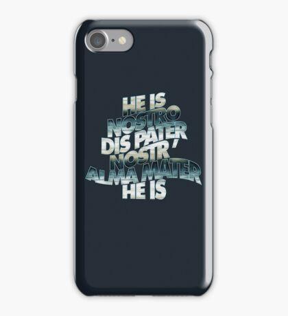 HE IS - lake overcast iPhone Case/Skin