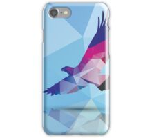 Geometric polygonal eagle, pattern design iPhone Case/Skin