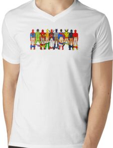 Superhero Butts LV Mens V-Neck T-Shirt