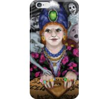 Madame Lovina's Haunted Talking Board iPhone Case/Skin
