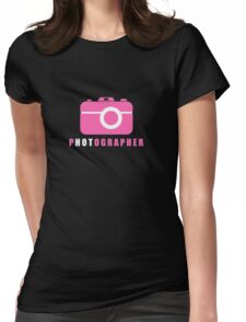 I Put the Hot in Photographer Womens Fitted T-Shirt