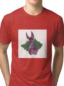 Sphynx Cat Print  Tri-blend T-Shirt