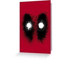 Deadsplatter Greeting Card