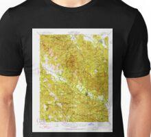 USGS TOPO Map California CA Calistoga 296980 1943 62500 geo Unisex T-Shirt