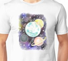Start Each Day With a Moment of Science Unisex T-Shirt