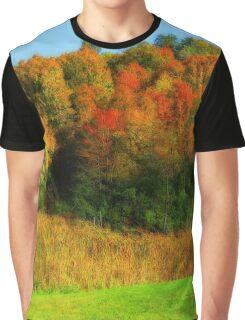 Vivid Autumn Graphic T-Shirt