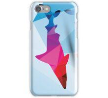 Geometric polygonal shark, pattern design iPhone Case/Skin