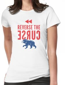 Reverse the Curse Womens Fitted T-Shirt