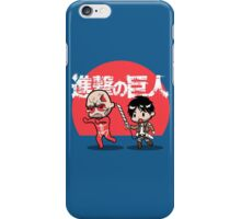 Attack on Somebody Your Own Size! iPhone Case/Skin