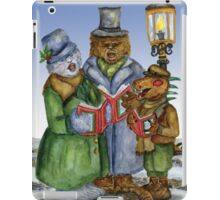 Caroling Cryptids iPad Case/Skin
