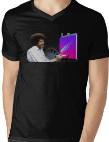 Bob Ross Mens V-Neck T-Shirt