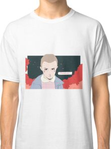 Promise?- Eleven from Stranger Things Classic T-Shirt