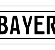 Bayern Kennzeichen Sticker