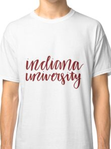 indiana university Classic T-Shirt