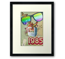 Retro Collection  -- 1985 Framed Print