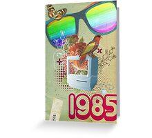 Retro Collection  -- 1985 Greeting Card